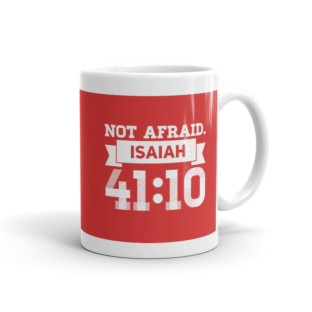 Not Afraid Mug - Lifted Apparel and More