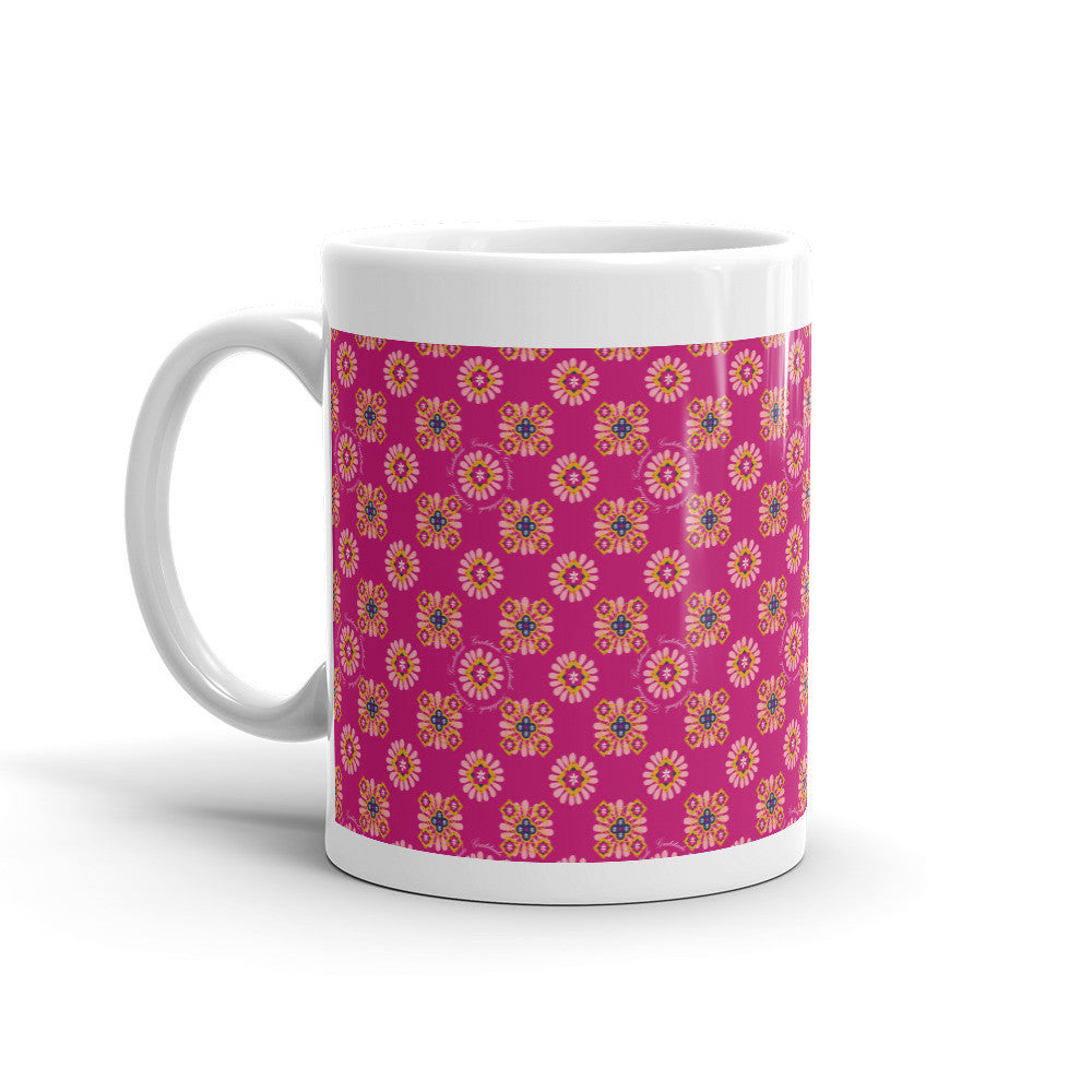 Gratitude Floral Mug - Lifted Apparel and More