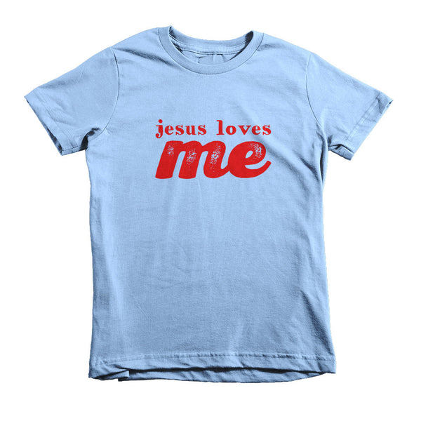 Jesus Loves Me Tee (Kids) - Lifted Apparel and More