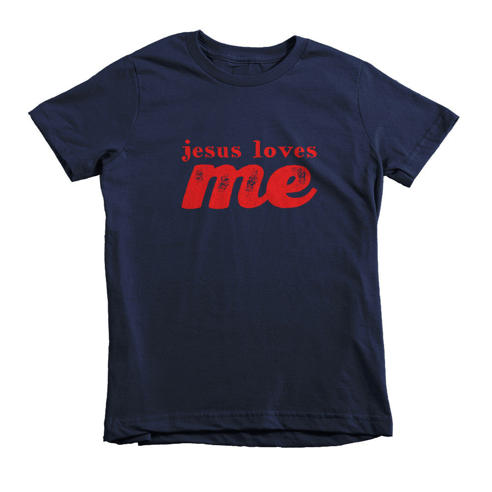 Kids Jesus Loves Me Tee - Lifted Apparel and More