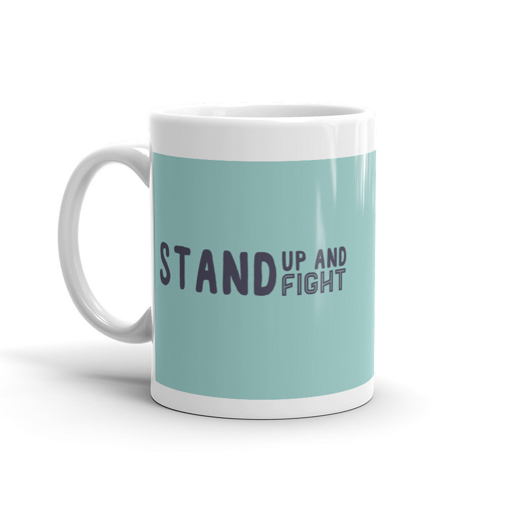 Stand Up Mug - Lifted Apparel and More