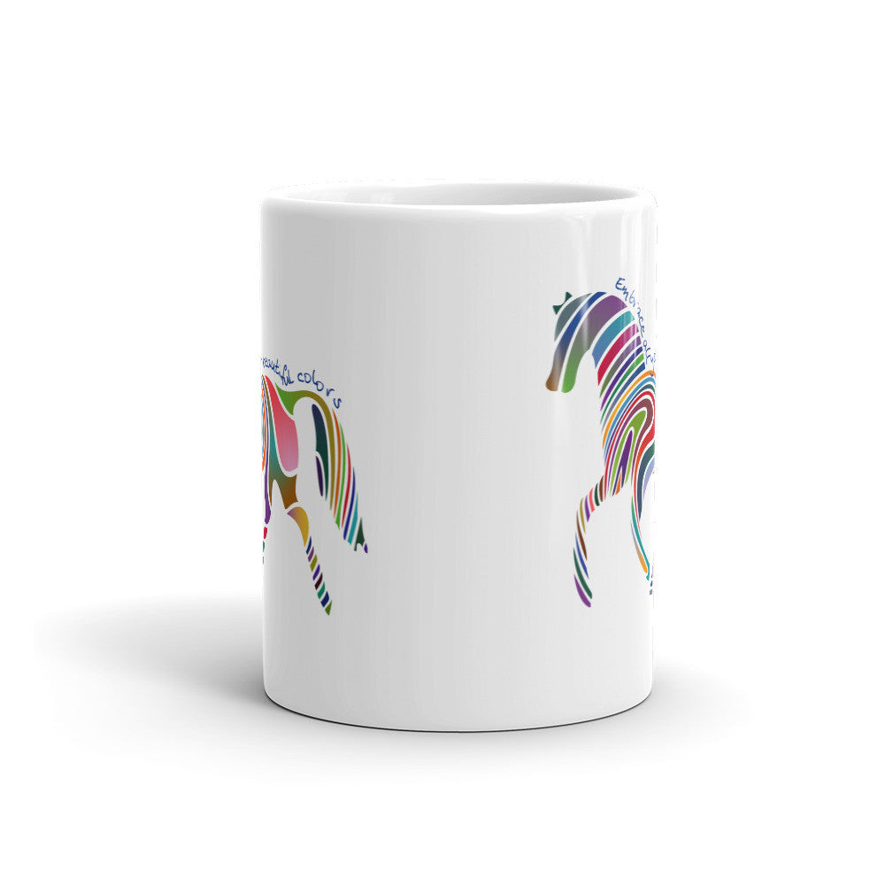Embrace Your Colors Mug - Lifted Apparel and More