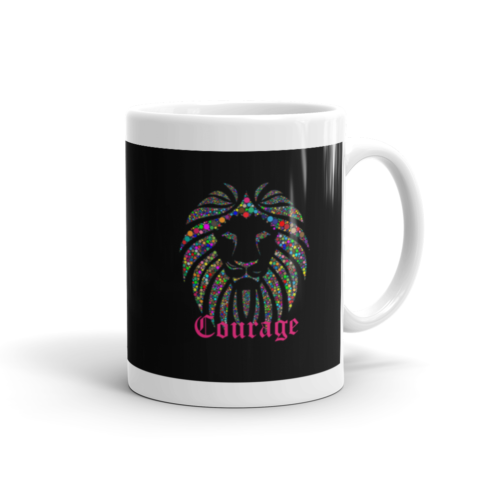Courage Mug - Lifted Apparel and More