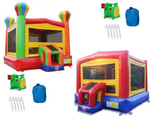 14' Commercial Bounce House Package with B-302 and B-311 Product