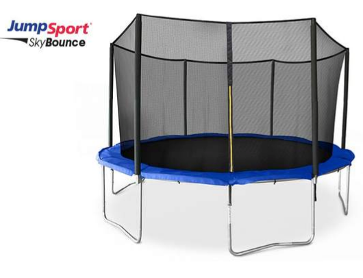 14' SkyBounce Trampoline with Enclosure