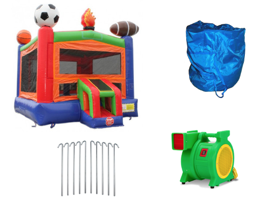 14' Sports Module Commercial Bounce House product images