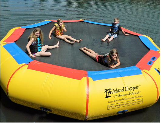 17' Island Hopper Water Bouncer image 1