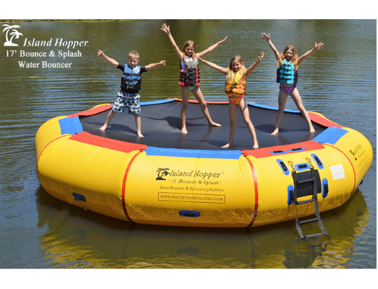 17' Island Hopper Water Bouncer image 2