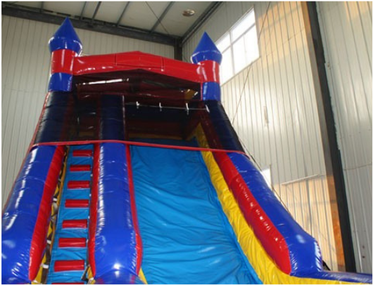 18'H Inflatable Slide Wet n Dry W-242