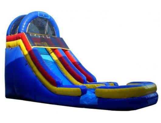 18'H Cool Blue Slide - W-238