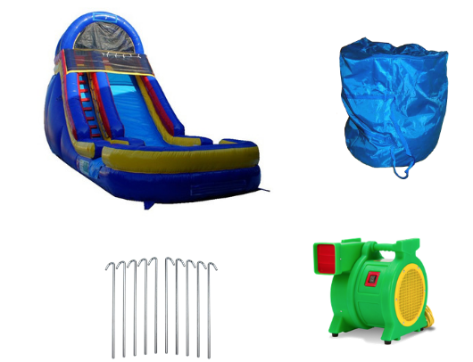 18'H Cool Blue Slide product images