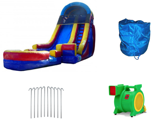 18'H Rainbow Screamer Slide - product images