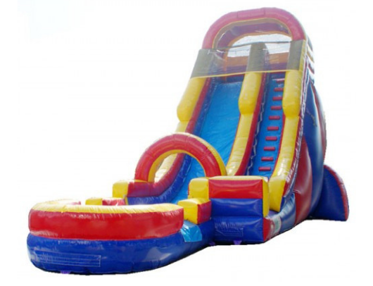 22'h screamer inflatable commercial water slide