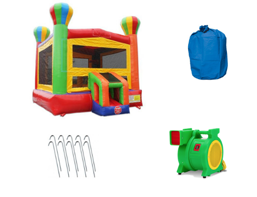 14' Balloon Commercial Bounce House with Blower