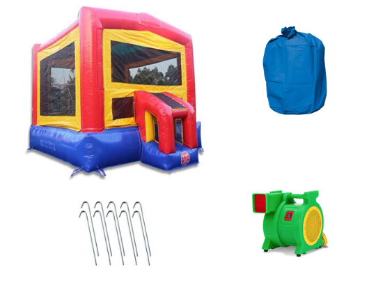 14' Classic Commercial Bounce House