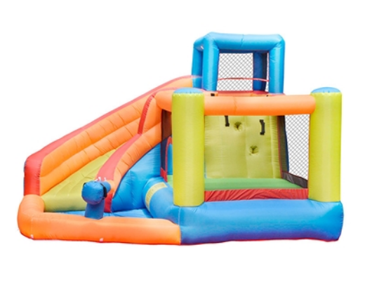 ALEKO Bounce House with Water Sprayer, Slide and pool - image 3