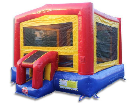 14 x 14 Classic Module Commercial Bounce HOuse