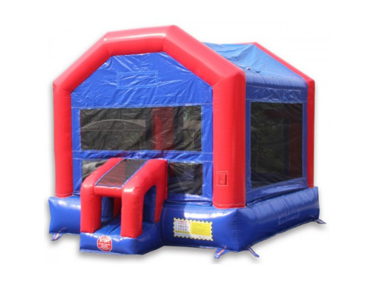 14x14 Funhouse Commercial Bounce House