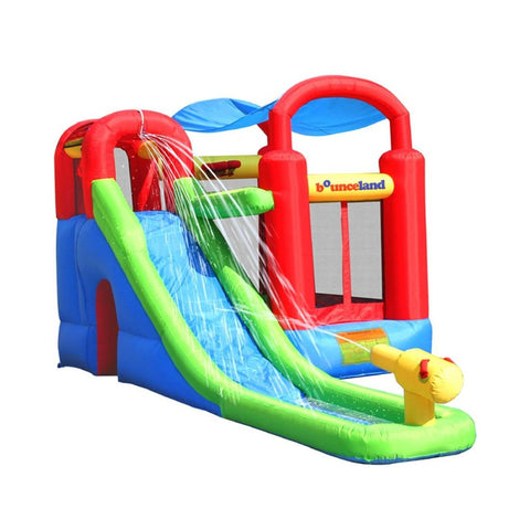 bounceland waterslide with playstation wet/dry