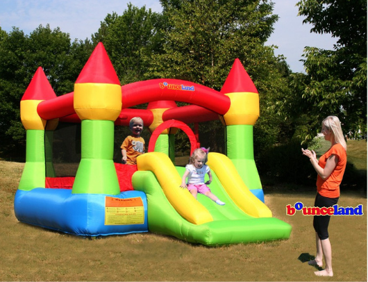 Bounceland Jump Castle House Kids Playing