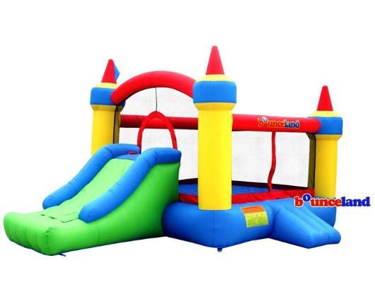 Bounceland Mega Castle with Slide