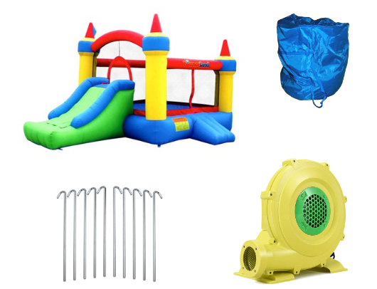 Bounceland Mega Castle with Slide product images