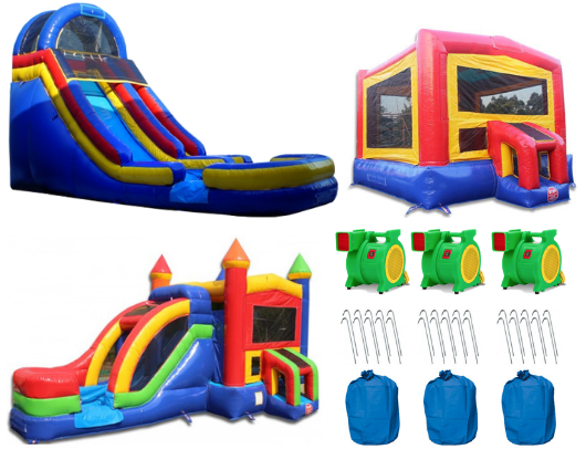 commercial bounce house package
