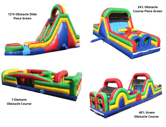 Commercial Inflatable Obstacle Courses