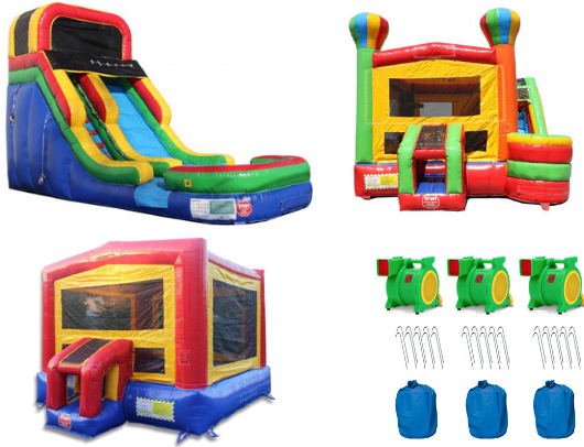Commercial Bounce House Complete Package Included