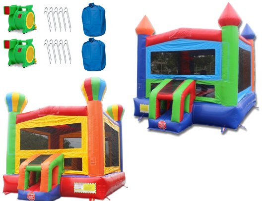 14' Commercial Bounce House Package including blowers
