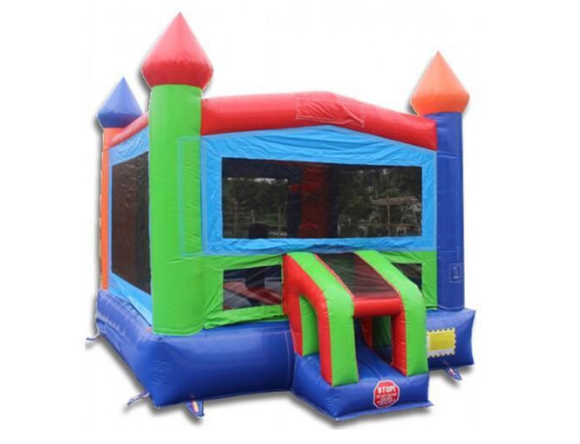 14' Rainbow Commercial Bounce House