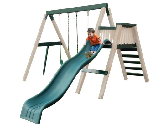 Congo Swing N Monkey 2 Position Swing Set