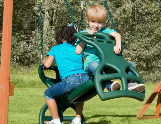 Dual Ride Glider Swing page image