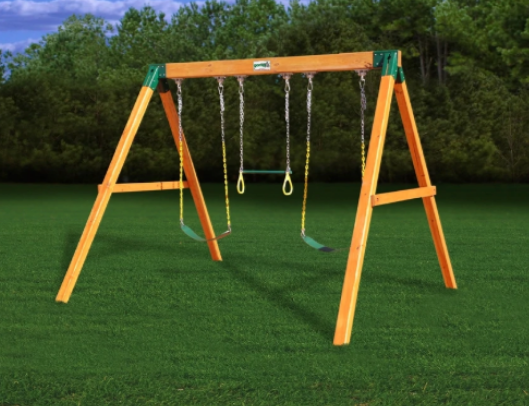 Free standing swing station by Gorilla