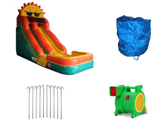 Moonwalk USA 18' Fun in the Sun Slide product images