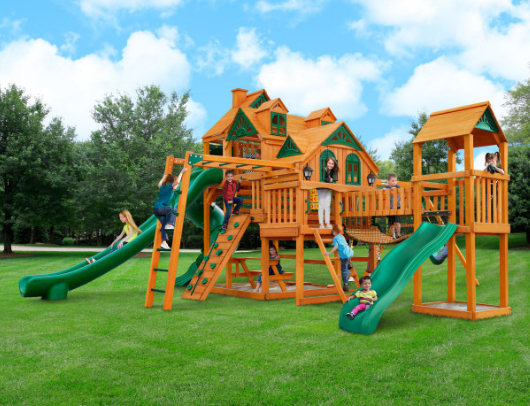 Gorilla Empire Extreme Swing Set