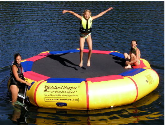 13' Island Hopper Water Bouncer