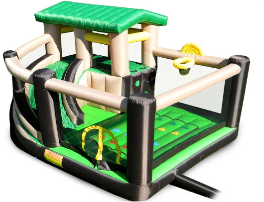 Island Hopper Fort All Sport 7 Activity Bounce House