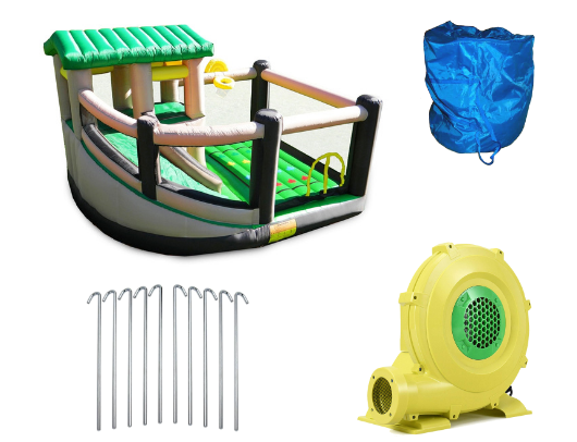 Island Hopper Fort All Sport 7 Activity Bounce House product images