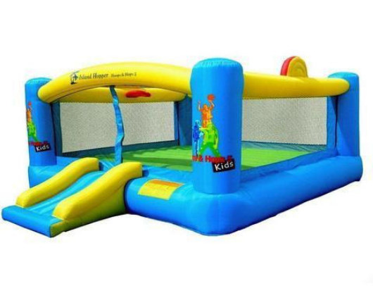 Island Hopper Hoops n Hops Bounce House