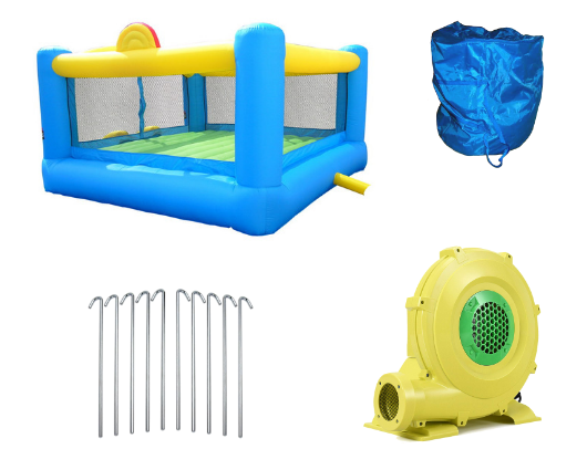 Island Hopper Hoops n Hops Bounce House product images