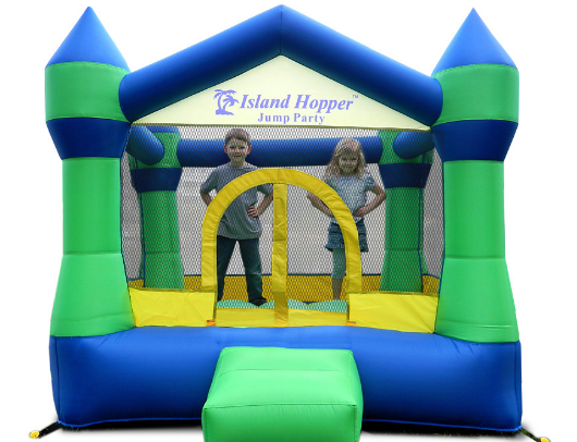 Island Hopper JUmp Party Bounce HOuse kids inside