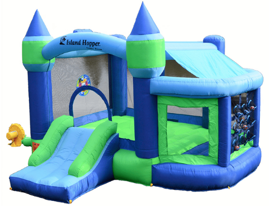 Island Hopper Shady Game Room Bounce House