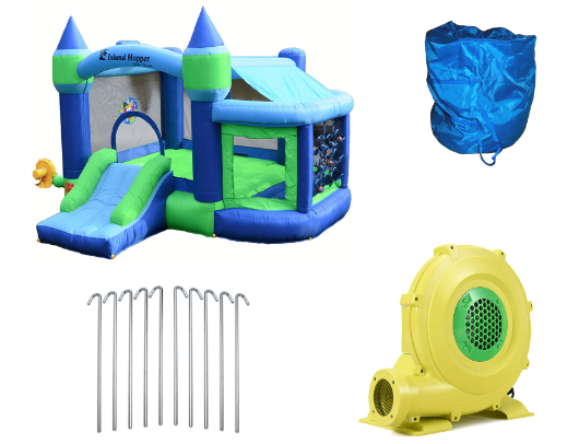 Island Hopper Shady Game Room Bounce House product images