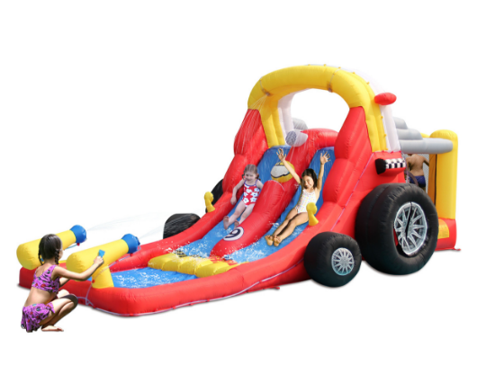 KidWise Formula One with Double Water Slides