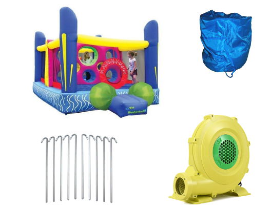 Kidwise Jump'n Dodgeball Product Images