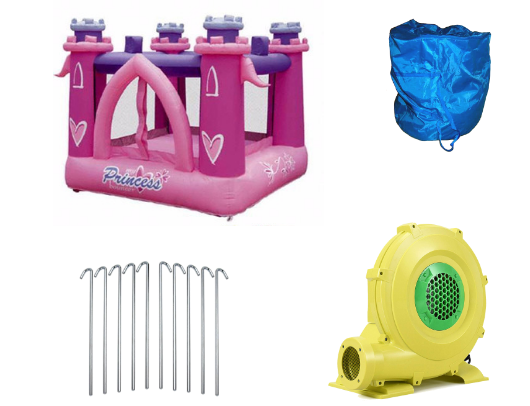KidWise My Little Princess Bounce House product images