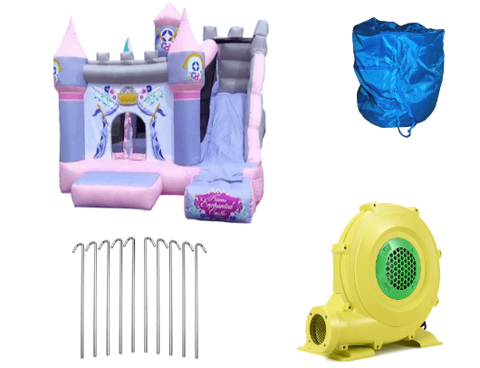 KidWise Princess Enchanted Castle With Slide product images
