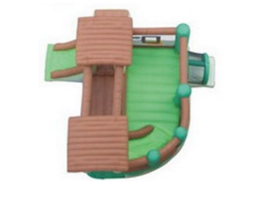 Kidwise Clubhouse Climber Ariel View