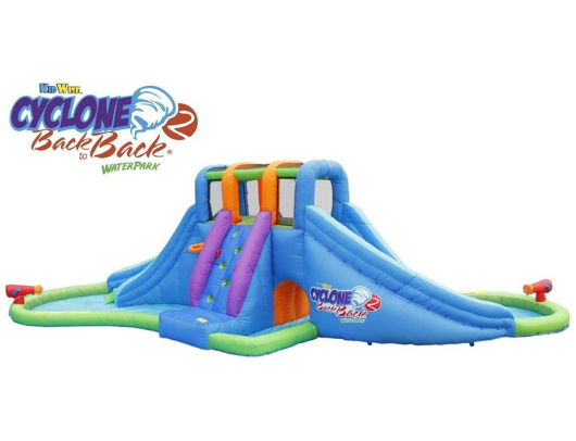 Kidwise Cyclone2 Back to Back Waterpark and Lazy River